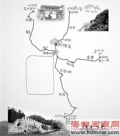 温陵北路——崇武古城