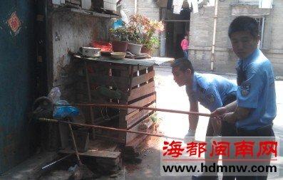 漳州市林业局野生动物管理站副站长林国洪
