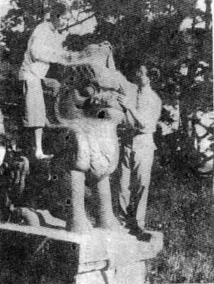 1929年梁思成、林徽因测绘沈阳北陵古建筑