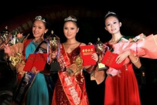 组图:旅游小姐赛区选手遭批网友称是惊悚片