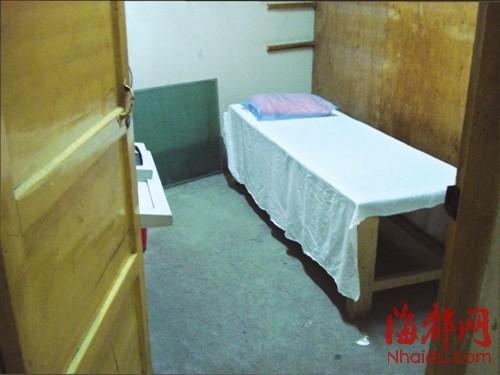何女士就是在这个房间遭到性侵的