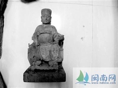 泉州木雕神像座椅图片
