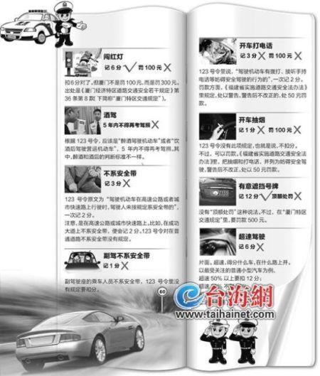 网友曲解交通违法处罚 8条新规6条错误扣分