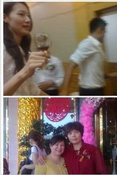 林丹与谢杏芳举行客家特色的婚宴。