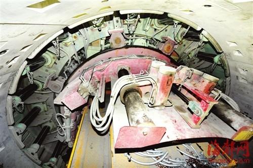 福州地铁盾构施工大揭秘 每天将掘进12米