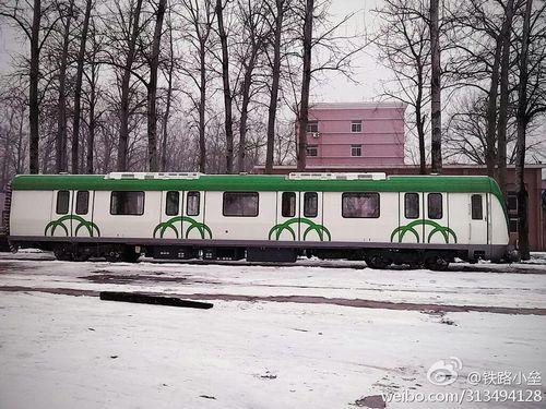 """福州地铁1号线样车。(图片来自网友""""铁路小垒"""")"""
