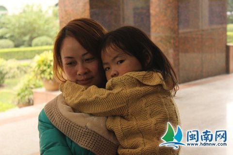 惠安出动百名警力 女童48小时重回妈妈怀抱