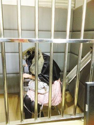 女子被处已行政拘留10日的处罚。(来源:网络)