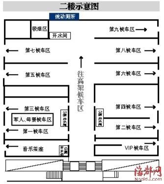 福州火车站换票喝水上厕所 请看示意图