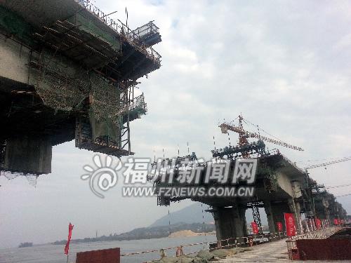 新南港大桥下月起陆续合龙