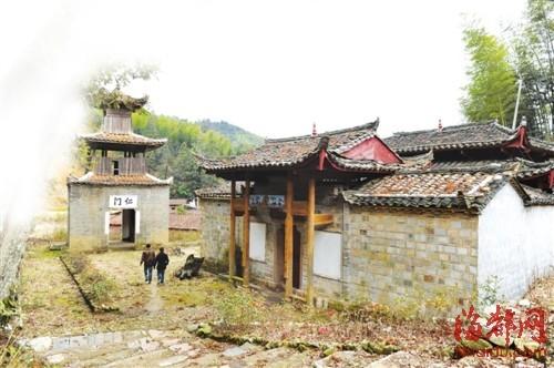 古树、驿道、老建筑,在大源村随处可见