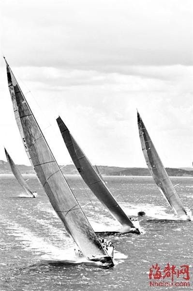 帆船竞技惊险刺激,但普通市民驾船出海,也可作为休闲娱乐(资料图)