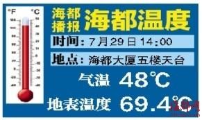 榕城气温昨创今年新高