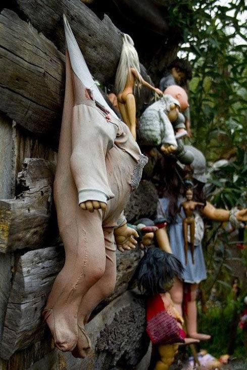 墨西哥诡异娃娃岛