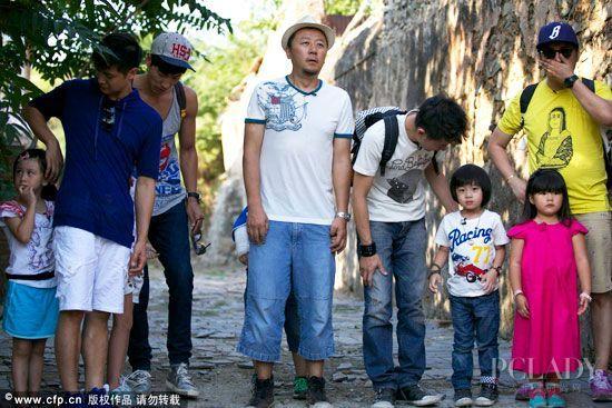 """跟着""""爸爸去哪儿""""走进中国最美村庄"""