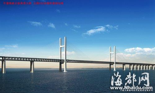 公铁跨海大桥(效果图)