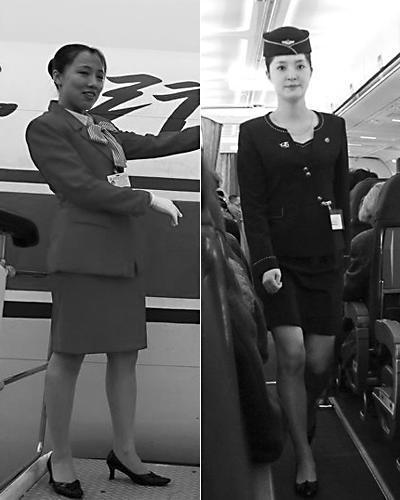 朝鲜空姐换装引发赞叹:裙子也比以前略短