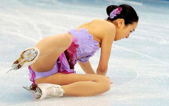 日本花滑女神摔倒冬奥会最美女运动员排行榜