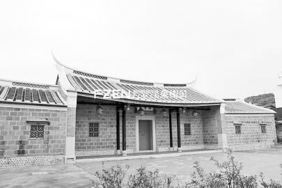 曾光斗居住过的台湾雾峰林家。