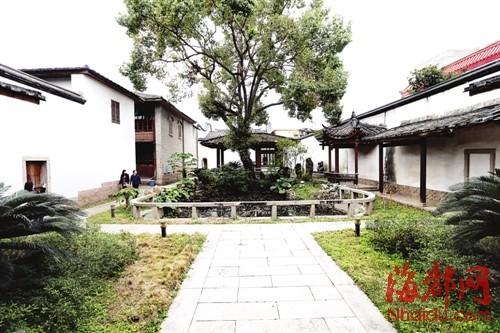 位于螺洲镇的最后帝师陈宝琛故居