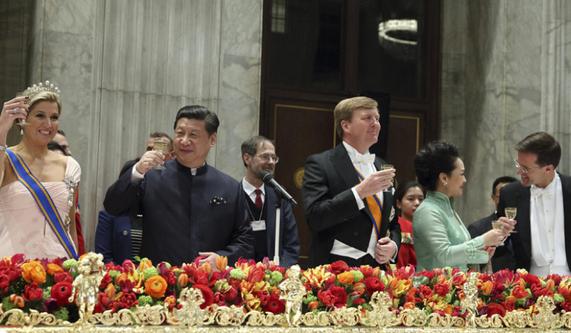 习近平晚宴菜单曝光 一览欧洲王室最高规格礼遇