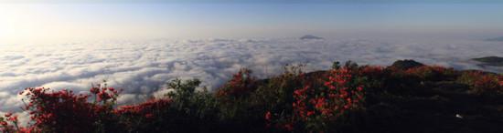普禅山_三明普禅山现罕见壮丽云海奇观