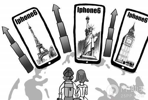 这个秋天最IN的旅游方式 旅游捎带IPhone6