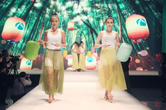 2014国际(永安)竹具设计大赛t台秀活动以