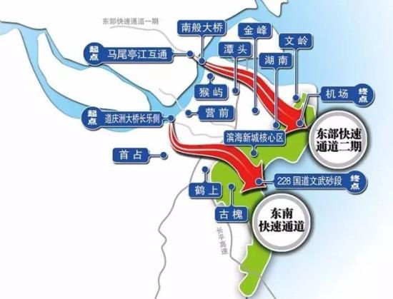 社会 > 正文    滨海新城两条快速通道年内动建,未来福州市区到长乐