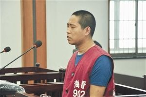凶手昨受审 通讯员供图