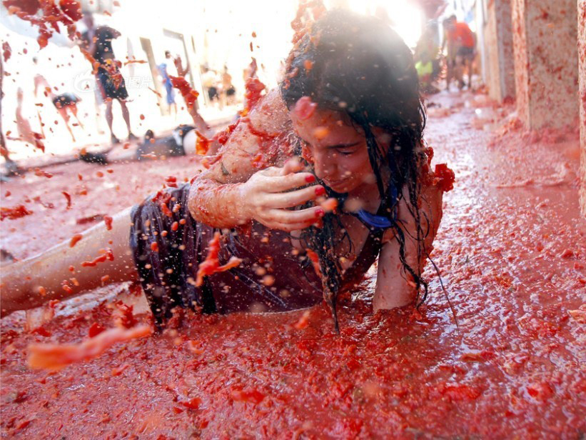 西班牙西红柿大战