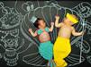 宝宝的黑板创意