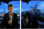 实拍主持人直播现场被雷击中瞬间变成灰