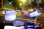 实拍四川富豪新加坡超速闯红灯撞车身亡