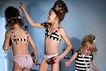 法国4岁女童拍胸罩广告 秀内衣被批不恰当