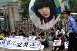 寿宁县原信访局长因女儿坠亡下跪上访