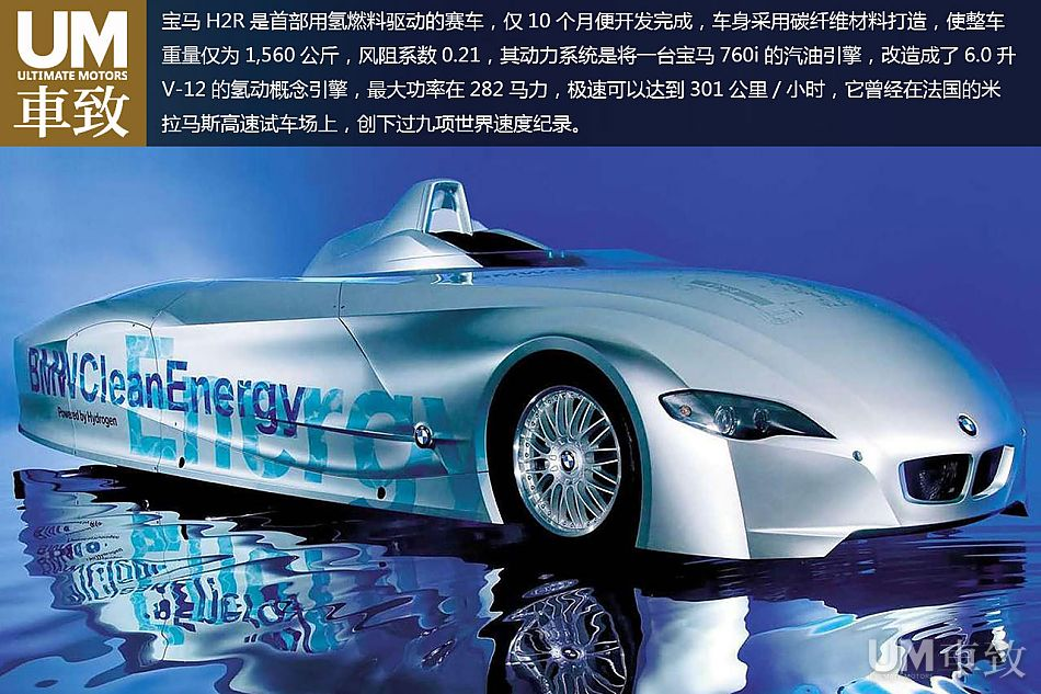 氢能威力 2004年款宝马H2R赛车