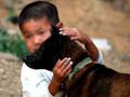 6岁艾滋孤儿山上独活