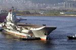 中国第一航母服役