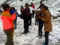 新疆八月飞雪