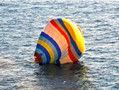 中国男子乘热气球从福建飞往钓鱼岛坠海