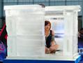 中国耐寒奇人 挑战冰封活人48小时
