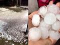 台州遭冰雹突袭