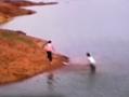 两女生水库嬉戏不幸溺水 友人恰拍下全程