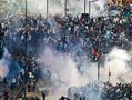 阿根廷首都现暴力骚乱 球迷四处逃散