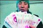 老夫妇卖苹果过年2小时收18张百元假钞