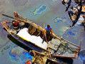 青岛爆炸油花污染万平米水域清污难度大