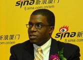 美国投资促进计划主任理事Barry E.A.Johnson